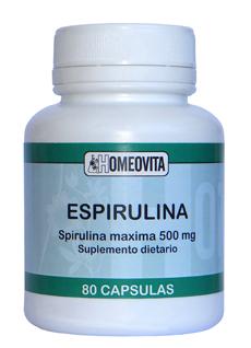 Homeopatía Homeovita - Cápsulas Naturales de Espirulina